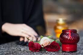 Des fleurs pour un enterrement