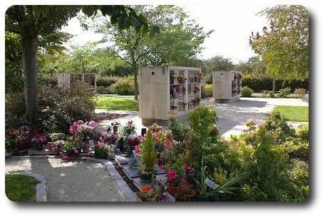 Fleurs de deuil pour une cr mation fleurs de deuil for Entretien jardin du souvenir