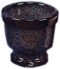 Pot de fleurs de deuil